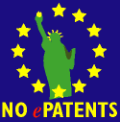 no e patents logo